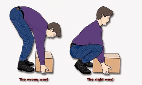 Proper Lifting Posture